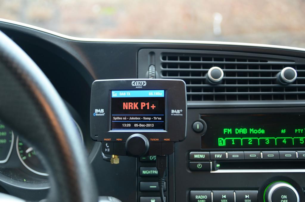 DAB-løsning for din gamle bilradio