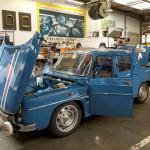 Renault med fem R8 Gordini i Monte Carlo Historique