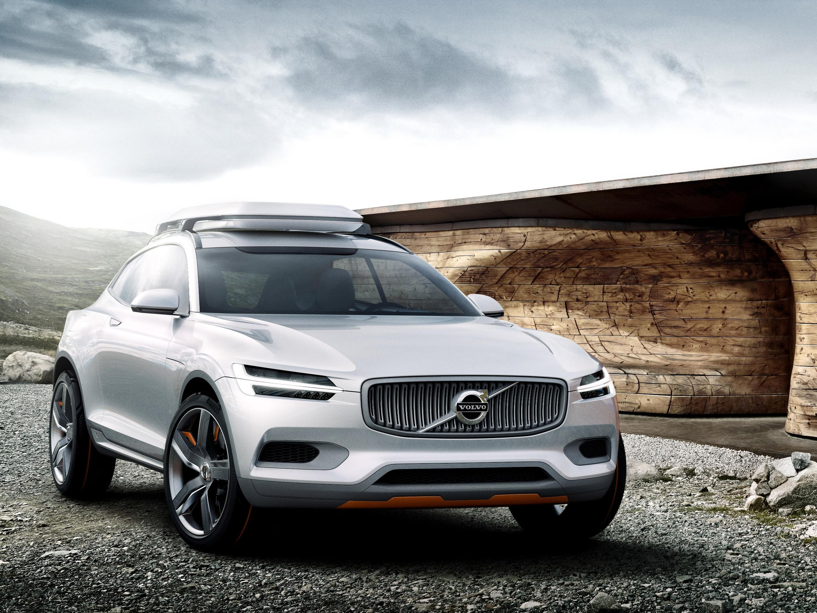 Designstudiet Volvo Concept XC Coupé