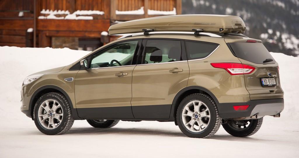 Ford Kuga-kunder foretrekker automatisk bakluke
