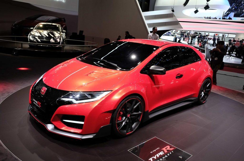 Konseptbilen Honda Civic Type R flytter grensene.