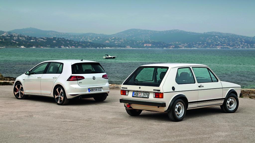 VW Golf  – suksessmodellen fyller 40 år