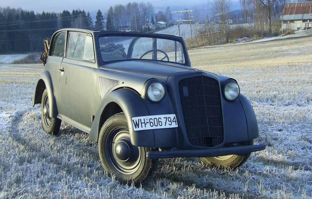 1936 Opel Olympia Cabriocoach