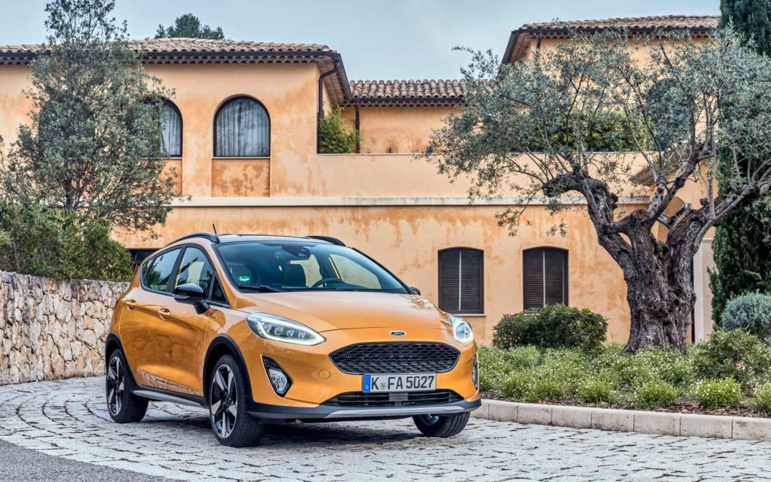 Nye Fiesta Active – tøff og høyreist