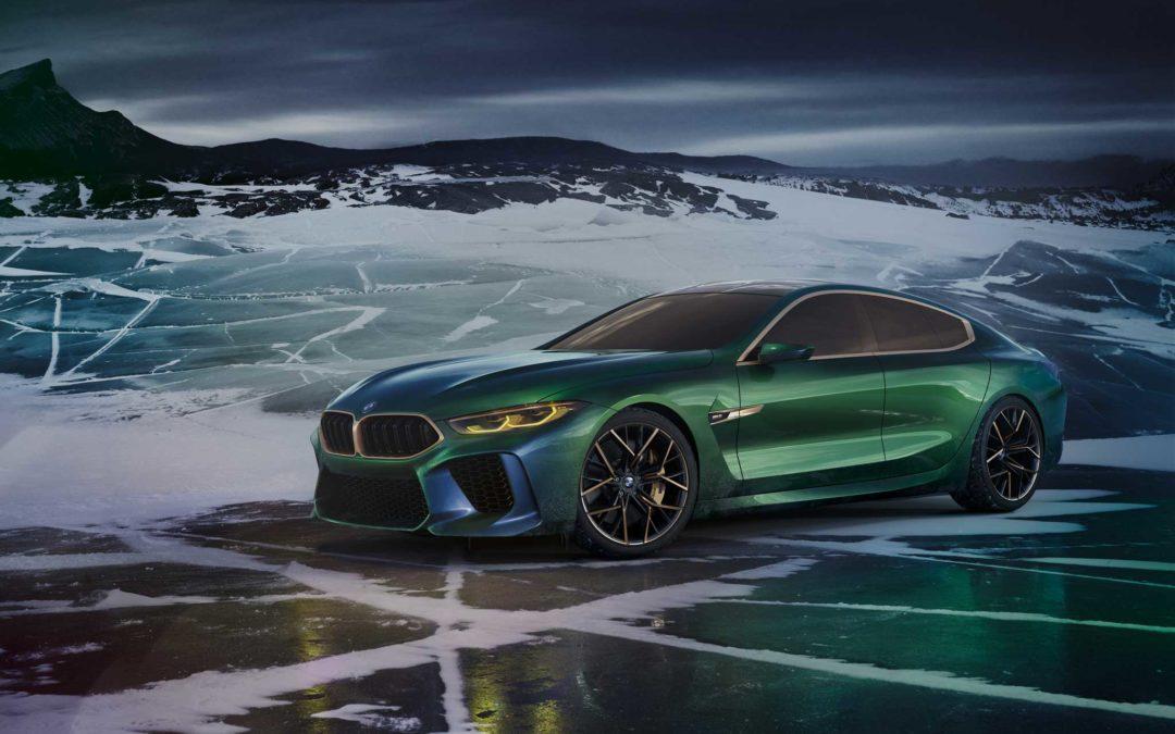 BMW Concept M8 Gran Coupe: Mer av alt