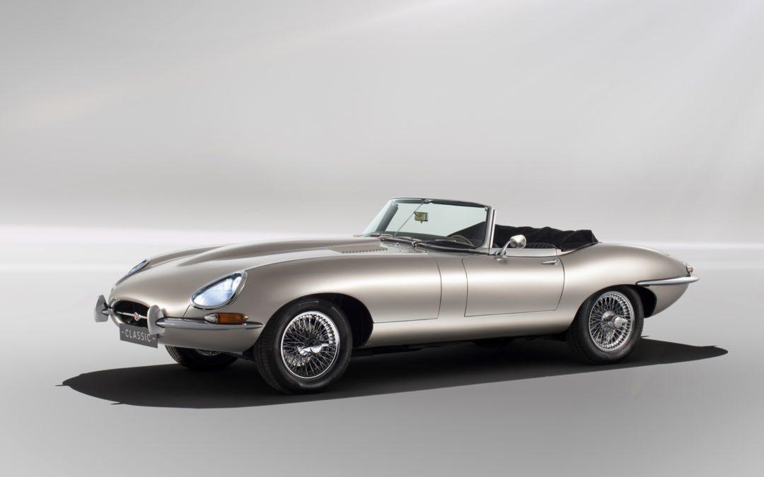 Elektrisk E-Type fra Jaguar Classic