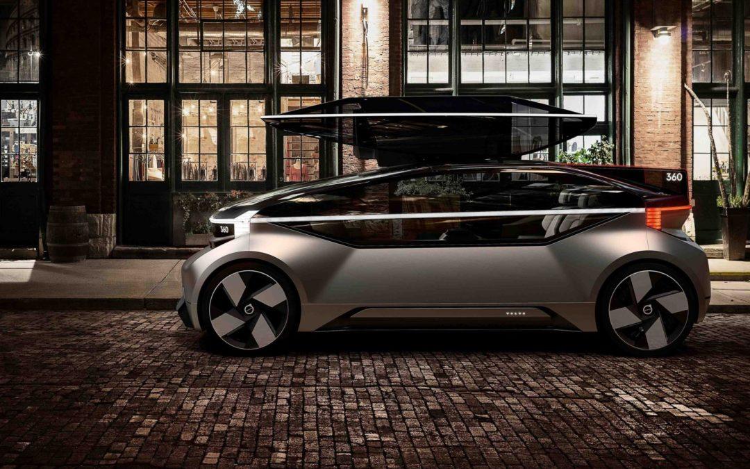 Den smarte konseptbilen Volvo 360c kjører selv