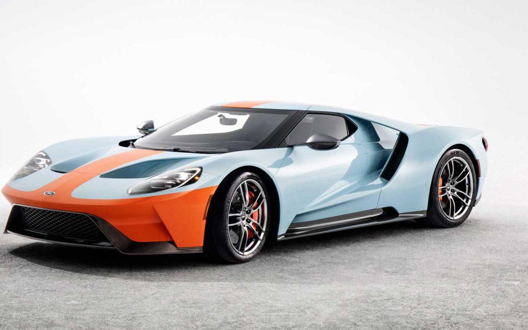 Supersportsbilen Ford GT kommer i nytt opplag på 350 stk