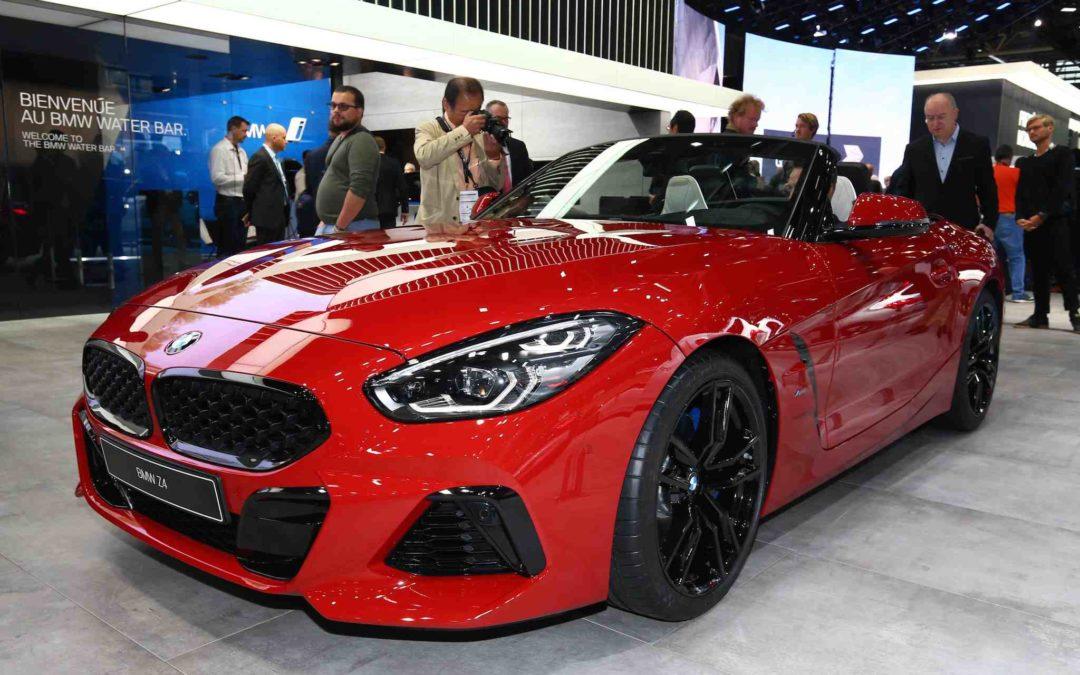 Stofftak – og kraftige motorer i den nye BMW Z4