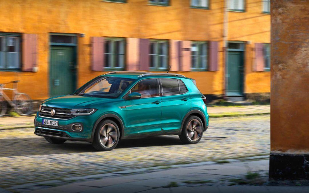 T-Cross Ny kompakt SUV fra Volkswagen