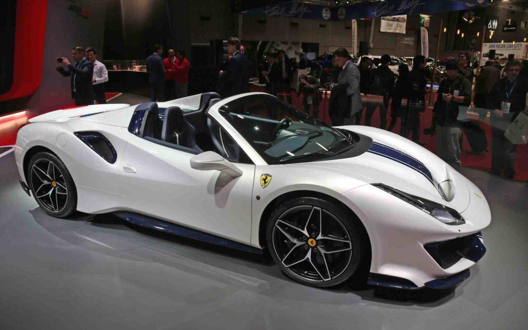 Historiens raskeste serieproduserte Ferrari Spider
