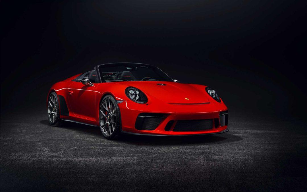 Ny Porsche 911 Speedster settes i produksjon