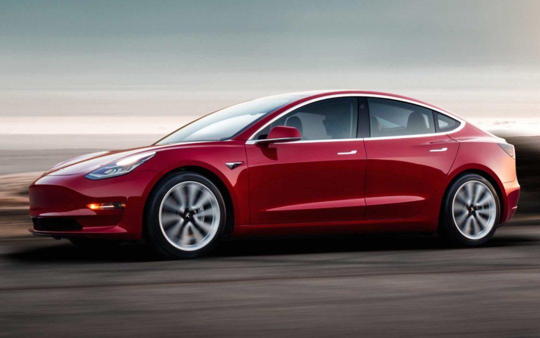 Tesla Model 3 loves nå til Europa tidlig i 2019