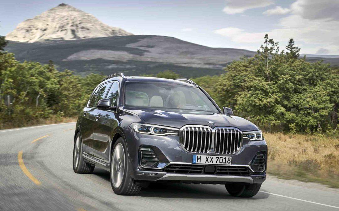 BMW X7 blir en av verdens mest luksuriøse SUV'er