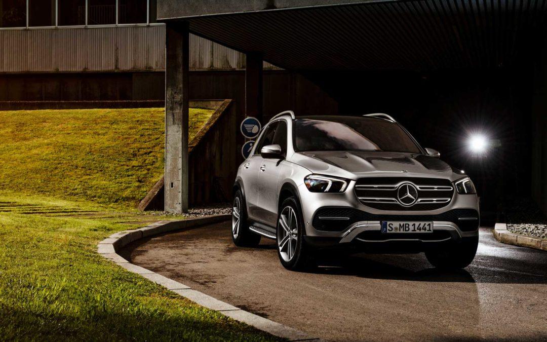 Nye Mercedes GLE kommer på nyåret.