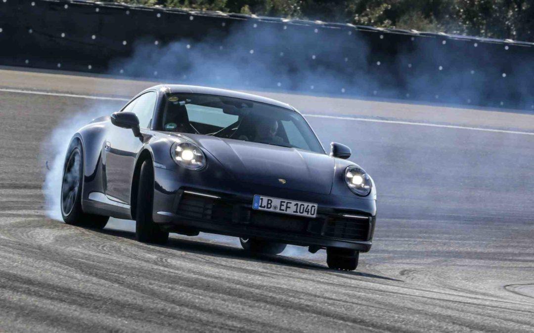 Sluttspurt for testing av den nye Porsche 911
