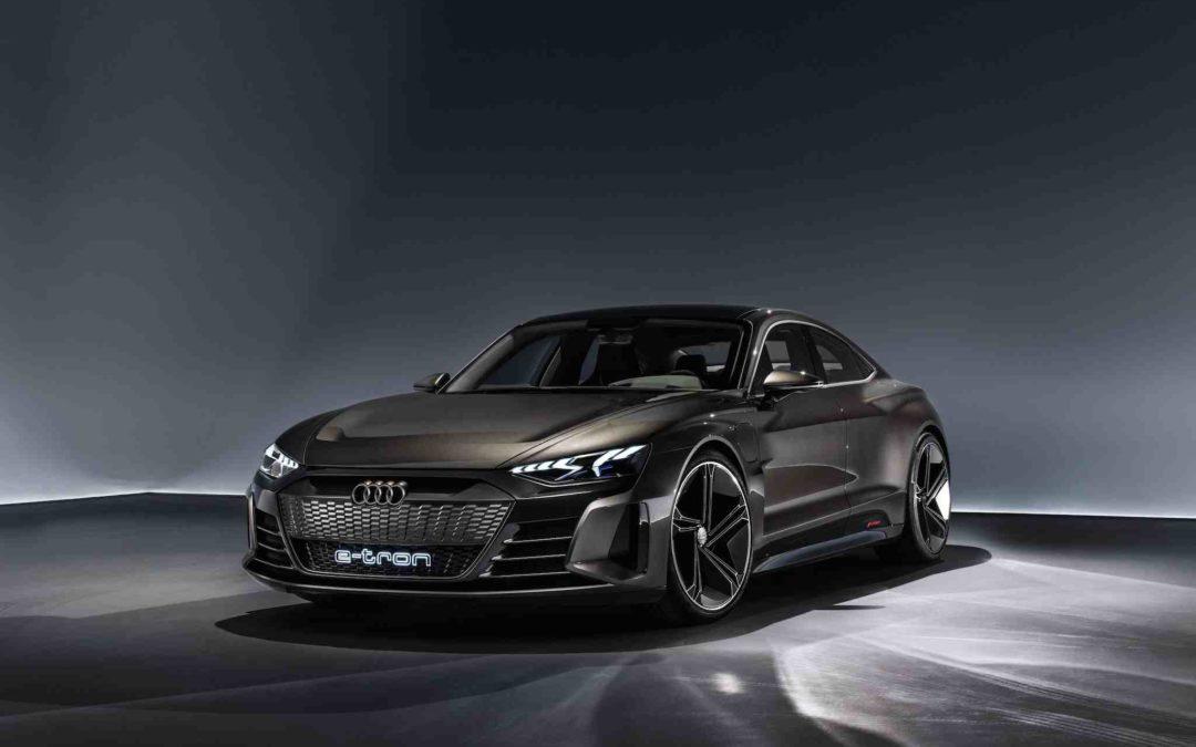 Stjernen i Los Angeles: Audi e-tron GT Concept