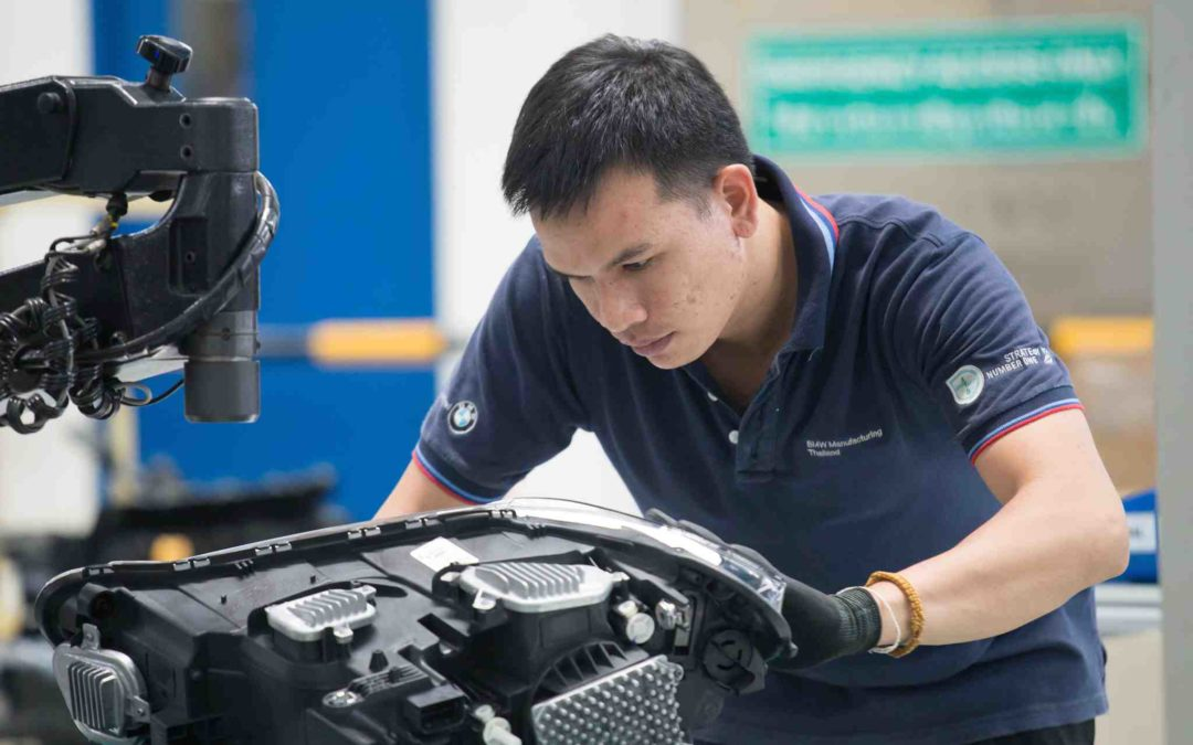 BMW bygger opp ny batterifabrikk i Thailand