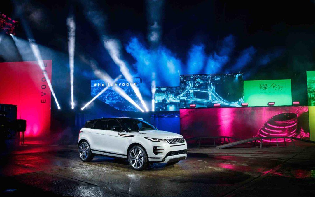 Stjernefylt glamour rundt ny Range Rover Evoque