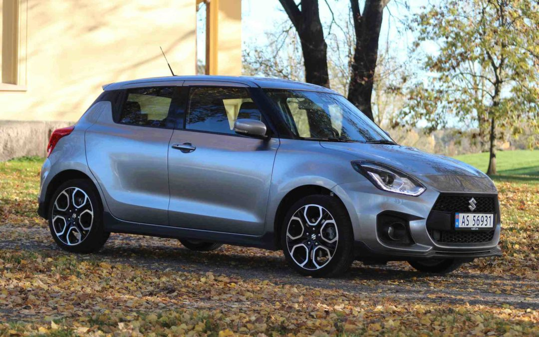 """Suzuki Swift Sport – som en GTI fra """"gamle dager"""""""