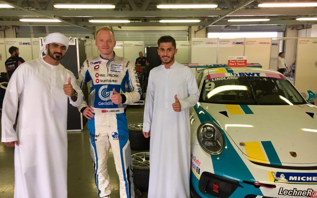 Lindland fornøyd med løpene i Dubai