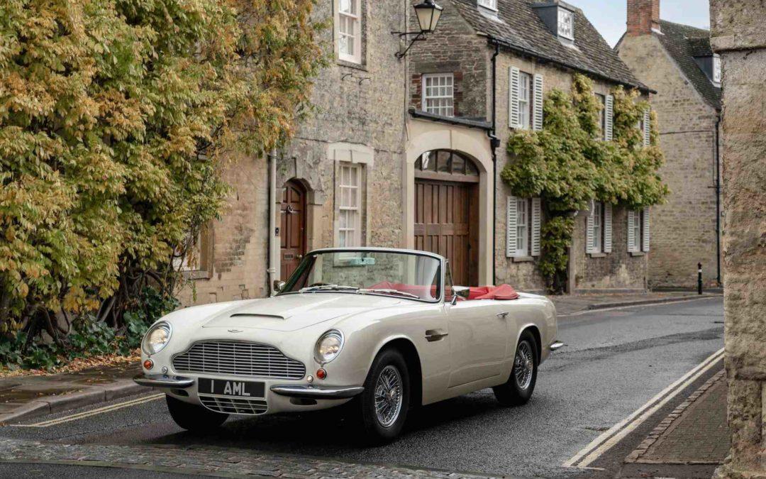 Aston Martin vil gjøre sine klassikere elektriske