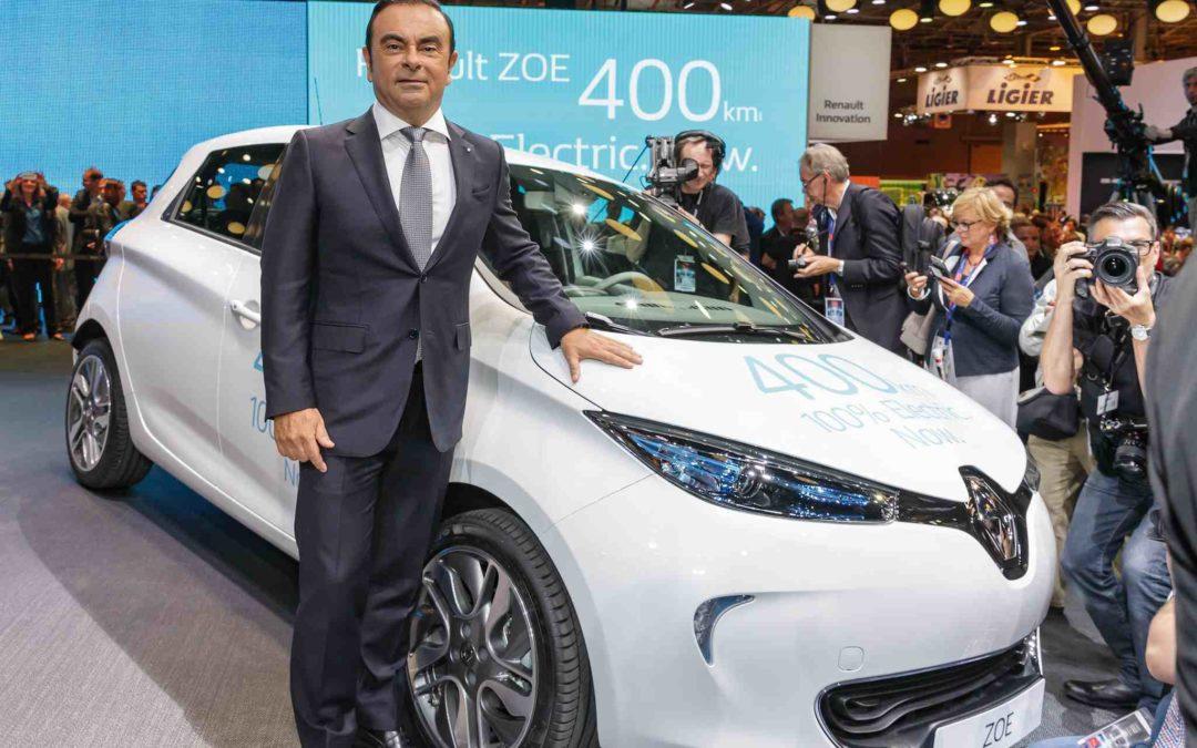 Goshn skandalen truer Renaults elbil-produksjon
