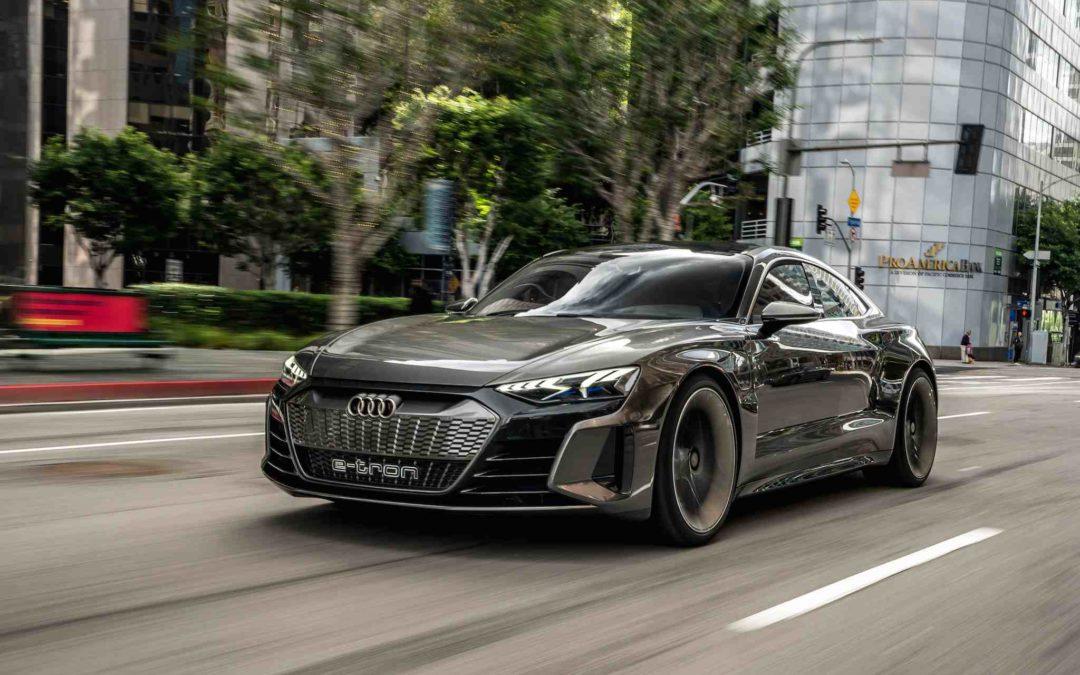 Eksklusiv prøvekjøring av Audi e-Tron GT Concept