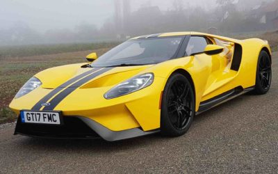 "Ford GT ""making America great again"""