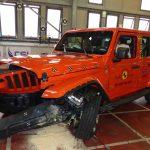 Katastrofale kollisjonstester for Fiat og Jeep