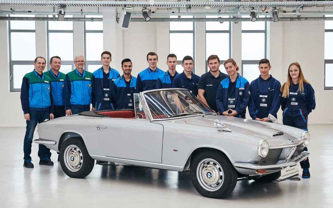 Gjenfødt i Dingolfing – BMW 1600 GT Convertible