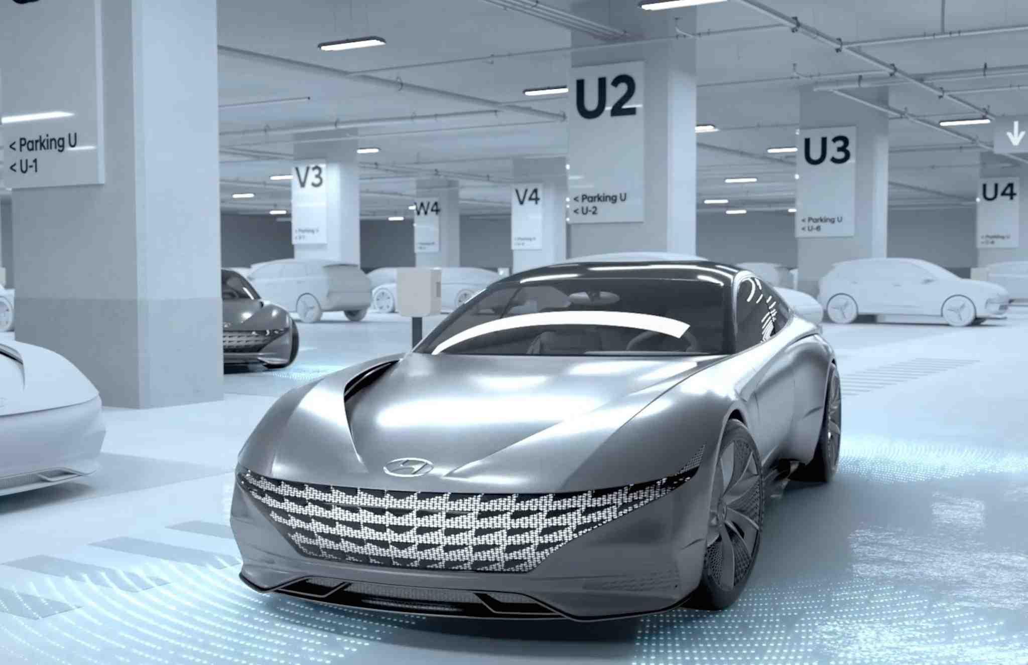Automatisert køordning og hurtigladning fra Hyundai