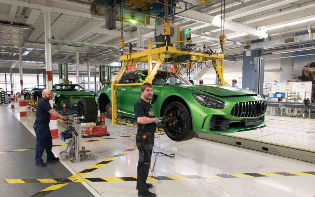 Bli med og se hvordan en Mercedes-Benz bygges