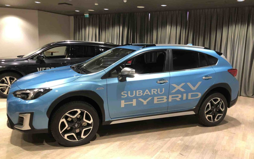 Subaru XV kommer med hybrid drivlinje