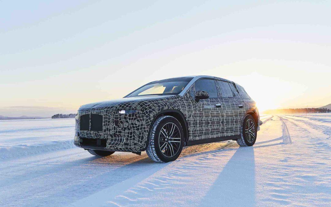 BMW's nye elbil vintertestes i Sverige