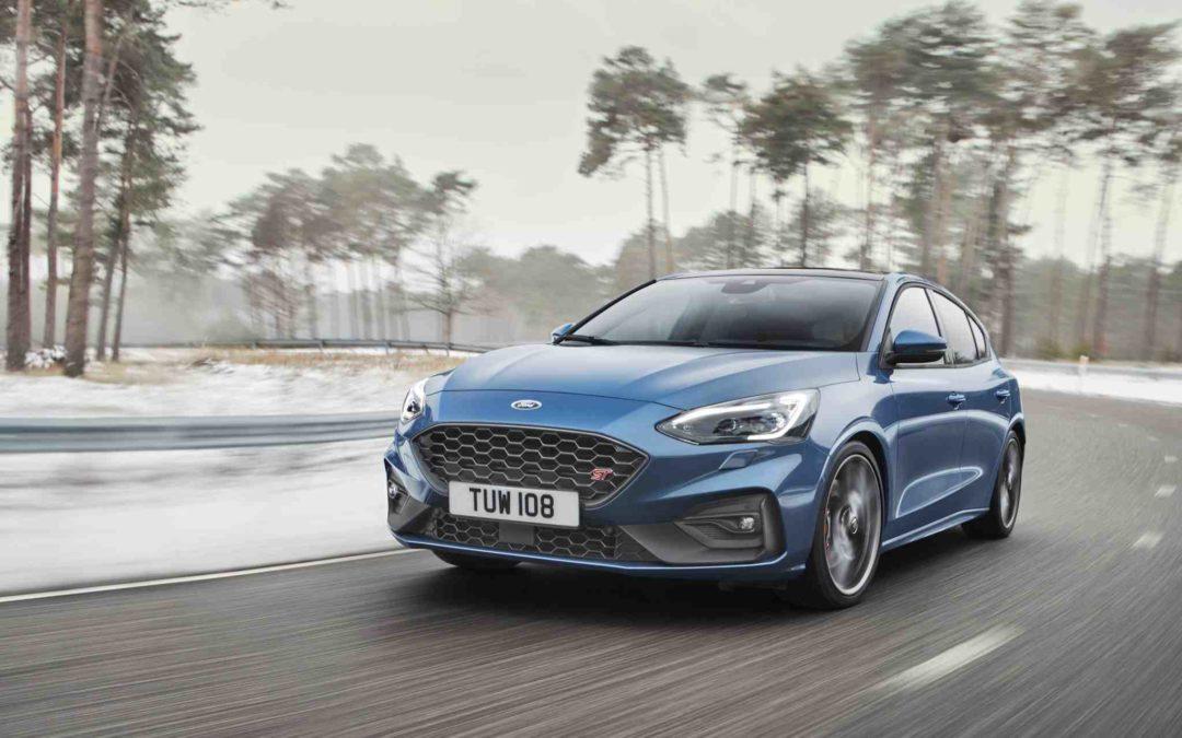Kjøremaskinen Ford Focus ST i ny utgave