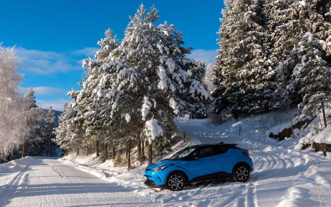 Toyota C-HR – En blå lykkepille