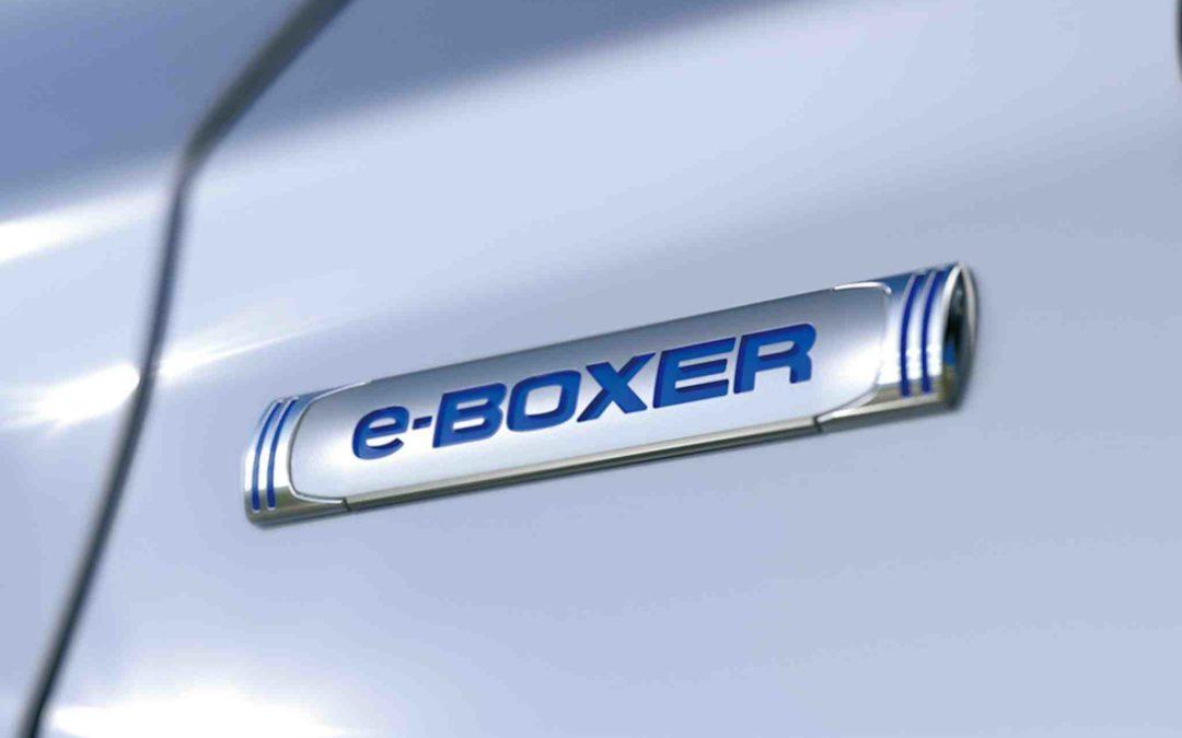 Subaru lanserer e-Boxer hybridbil i Genéve