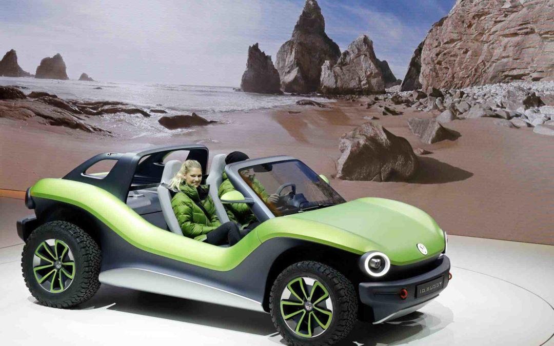 ID. Buggy – en elektrisk flørt med VW-historien