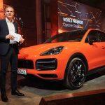 Porsche Cayenne i helt ny Coupé –utgave