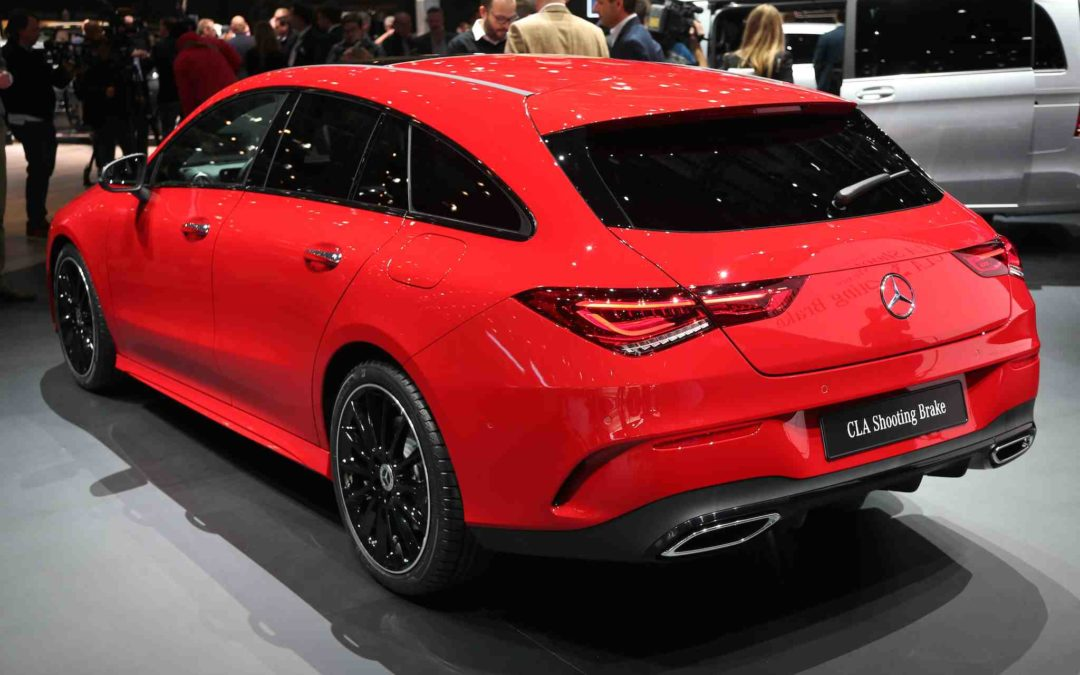 Mercedes CLA Shooting Brake pirrer sansene