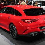 Mercedes CLA Shooting Brake pirrer sansene