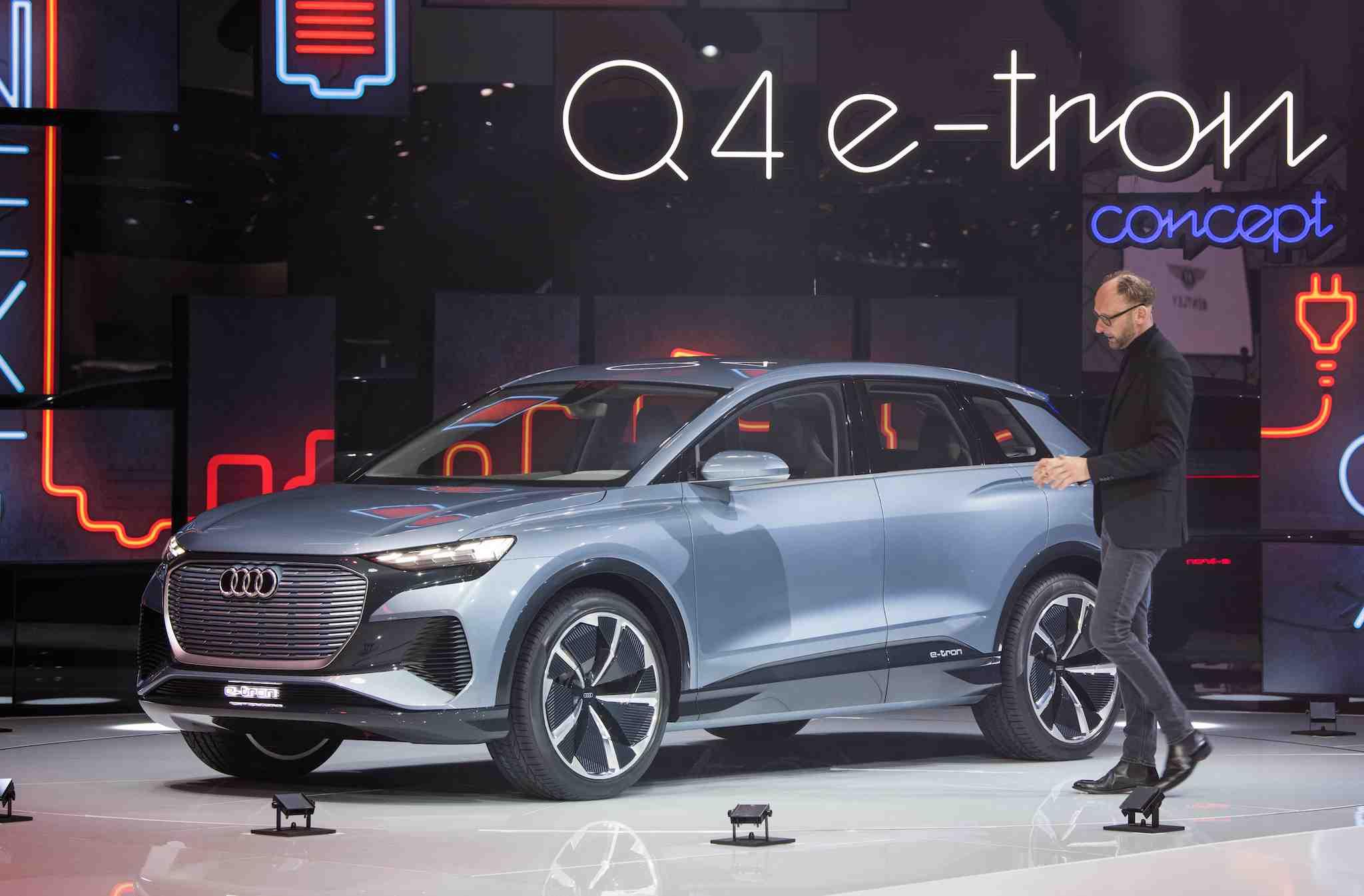 Elbilen Audi Q4 e-tron blir en riktig volum-modell ...