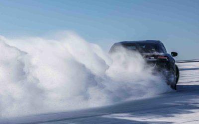 Testingen av Porsche Taycan går mot slutten