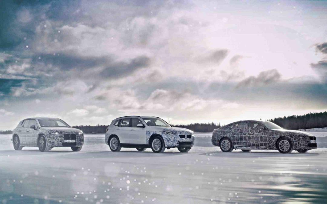 Nye elbiler fra BMW rykker stadig nærmere