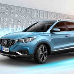 MG eZS elektrisk SUV lanseres i Europa til høsten