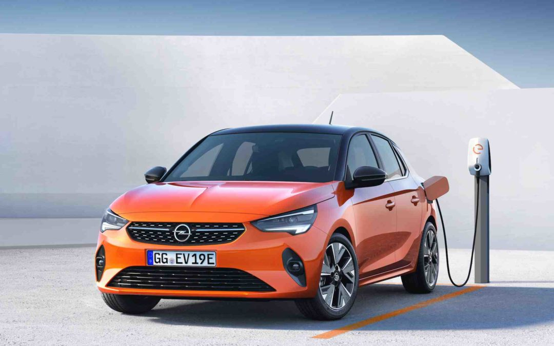 Nå kommer nye elbilen Opel Corsa-e