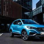Europa-premiere for elbilen MG ZS EV i London