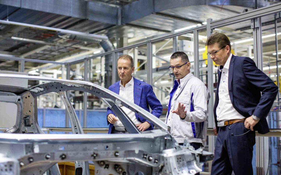De første 200 eksemplarene av elbilen iD er produsert