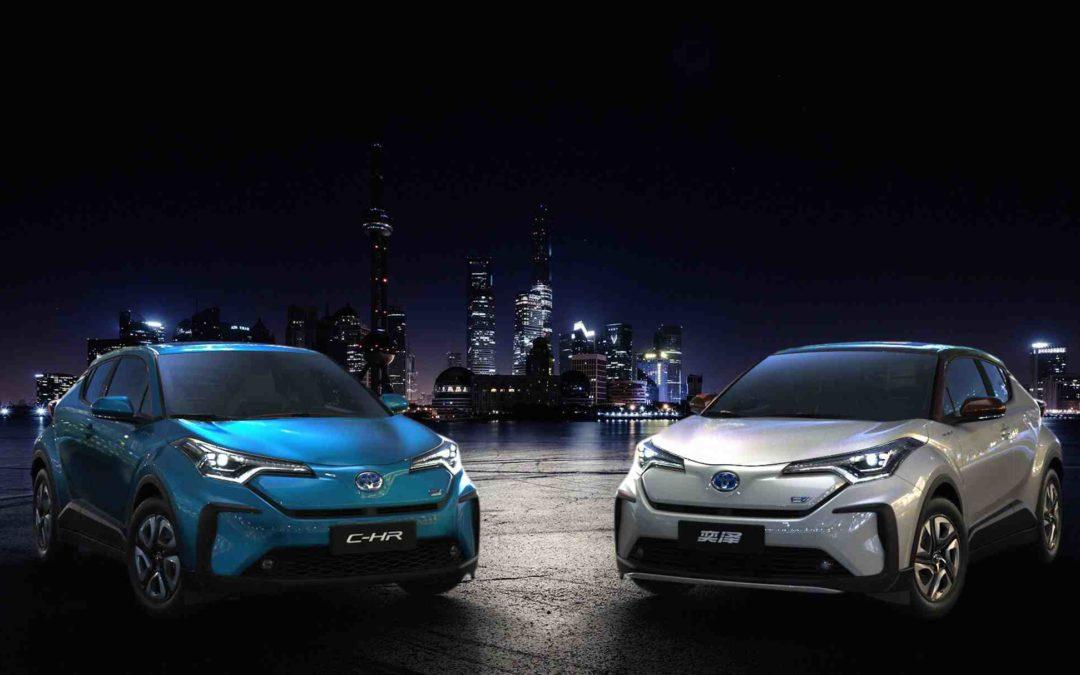 Toyota skal lansere 10 batteri-elektriske biler i 2020